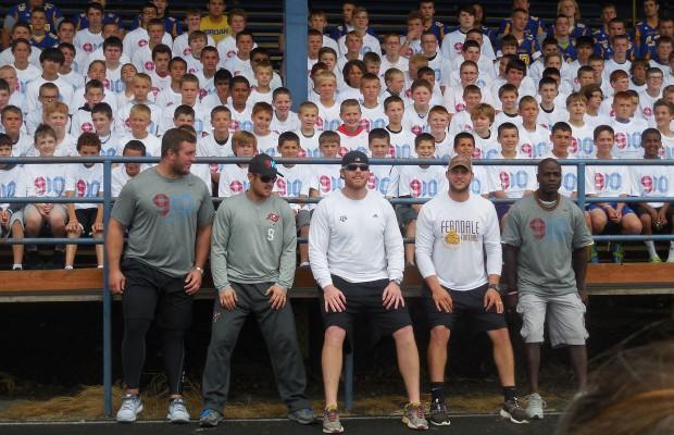 Photos: Michael Koenen & Jake Locker Football Camp