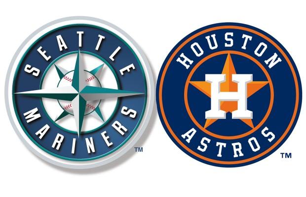 seattle mariners houston astros logos