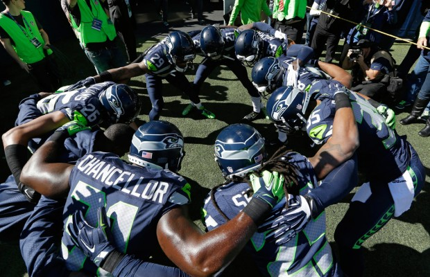 Seahawks Huddle